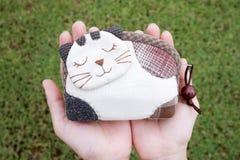 kołdrowy kot Obraz Royalty Free