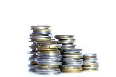 kołek monet Zdjęcie Stock
