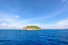 Ko Ha is a small island in Mu Ko Similan, Thailand Royalty Free Stock Images