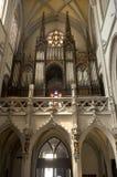 Košice - Chorus and organ from Saint Elizabeth gothic cathedral. Košice - Chorus and organ from 19. cent. in Saint Elizabeth gothic cathedral -  Slovakia Stock Image