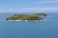 Ko Kaeo Yai i Ko Kaeo Noi wyspy Fotografia Stock