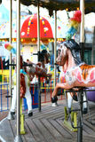 koń karuzeli Zdjęcie Stock