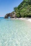 Ko Khai海岛的, Lipe石拱道 免版税库存照片