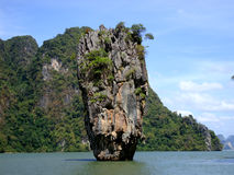 Ko Khao Phing Kan .. James Bond Island in Thailand Stock Photography