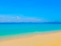Ko Kradan, an island in the Andaman Sea, Thailand. The Ko Kradan, an island in the Andaman Sea, Thailand Stock Image