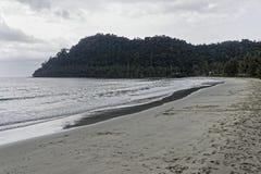 Ko Kut, Thailand 25,2018 Februari: Het Strand van het kokosnoteneiland Royalty-vrije Stock Fotografie