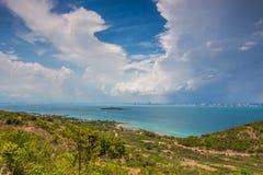 Ko LAN-ö på Pattaya Arkivfoton