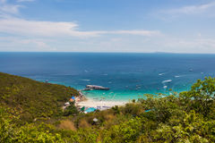 Ko Lan-Insel in Pattaya Lizenzfreies Stockbild