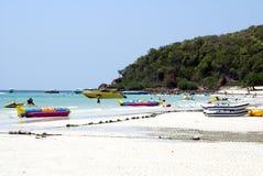 Ko Lan island, koh hae island, or Coral island in Pattaya, Thailand, Asia. Royalty Free Stock Image