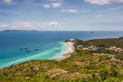 Ko Lan island at Pattaya Royalty Free Stock Photo