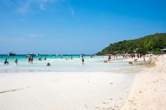 Ko Lan wyspa Zdjęcia Royalty Free