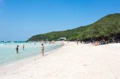 Ko Lan wyspa Zdjęcie Royalty Free