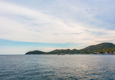 Ko Lan wyspa Pattaya Fotografia Stock