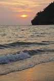 Ko Lanta sunset Stock Photography