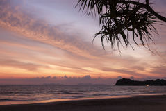 Ko Lanta sunset Royalty Free Stock Images