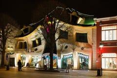 Koślawy dom w Sopocie Fotografia Royalty Free