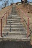 Koślawy schodek Zdjęcie Royalty Free