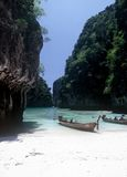 ko le phi泰国 免版税图库摄影