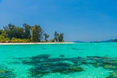 Ko Lipe Tarutao Marine Park Thailand nazionale fotografia stock