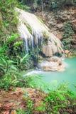 Ko luang瀑布,南奔,泰国 免版税库存图片