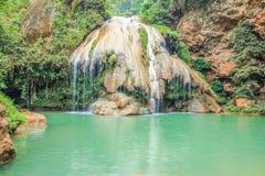 Ko luang瀑布,南奔,泰国 库存图片
