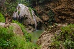 Ko Luang Water fall Royalty Free Stock Photo