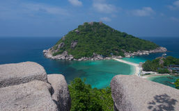 Ko Nang Yuan Island nahe Samui, Thailand Lizenzfreie Stockbilder