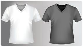 kołnierzy koszula trójbok Zdjęcia Stock