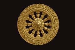 Koło Dhamma Obrazy Stock