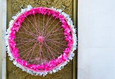Koło kwiaty Obrazy Royalty Free