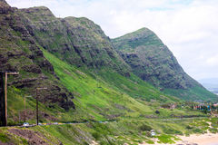 Ko-` olau Gebirgszug, Oahu, Hawaii Stockfotos