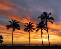 Ko Olona Sunset Royalty Free Stock Images