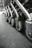 Kołowa fura w centrum handlowym. Zdjęcie Royalty Free