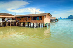 Ko Panyi fishing village in Thailand Stock Photo