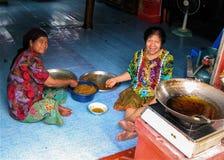 Ko Panyi Floating Villagers Stock Image