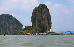 Ko Panyi (Koh Panyee) Royalty Free Stock Photo