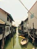 Ko Panyi, pescatore Village in Tailandia immagini stock libere da diritti