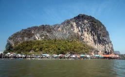 Ko Panyi, phang-Nga επαρχία, Ταϊλάνδη Στοκ Εικόνες