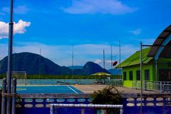 Ko Panyi School,Phang Nga Province, Thailand Royalty Free Stock Photos