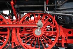 Ko?a parostatek lokomotywa zdjęcie royalty free