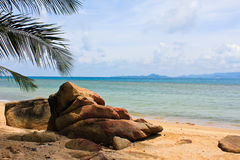 Ko Pha Ngan beach scene Stock Photos
