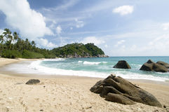 Ko Pha Ngan beach scene, Thailand Royalty Free Stock Images