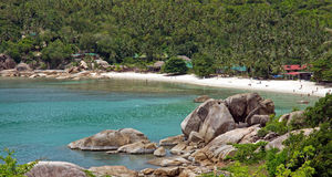 Ko Pha Ngan strand Royaltyfria Bilder