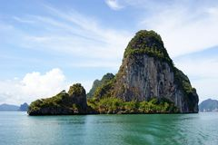 Ko Phanak Island, Thailand stock image