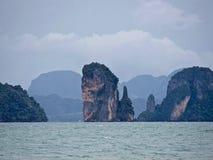Ko Phi Phi Island dans Thailand_01-24-2017 Images libres de droits