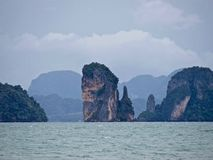 Ko Phi Phi Island em Thailand_01-24-2017 Imagens de Stock Royalty Free