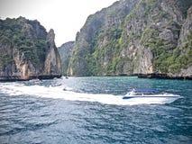 Ko Phi Phi Island em Thailand_01-24-2017 Imagem de Stock