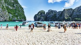 Ko Phi Phi Lee island in Thailand Stock Images