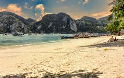 Ko Phi Phi Lee island in Thailand Stock Photography