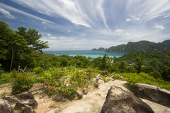 Ko Phi Phi. Amazing view of Ko Phi Phi island in Thailand Royalty Free Stock Image